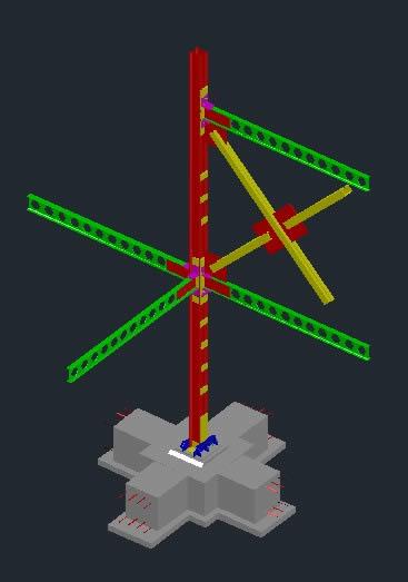 Planos de Coneccion de acero, en Steel framing – Sistemas constructivos