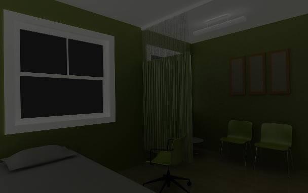 Consultorio medico 3d, en Proyectos – Hospitales