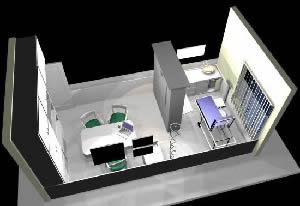Consultorio medico en 3d, en Proyectos varios – Proyectos