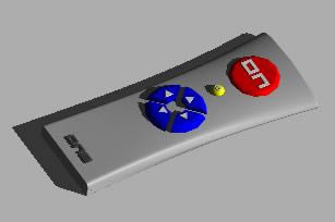 Planos de Control remoto  3d, en Electrodomésticos – Muebles equipamiento