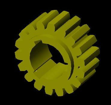 Planos de Corona conjunto sin fin, en Válvulas tubos y piezas – Máquinas instalaciones