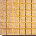 Cuadrato amarillo, en Pisos cerámicos – Texturas