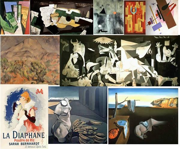 imagen Cuadros y pinturas, en Cuadros - Texturas