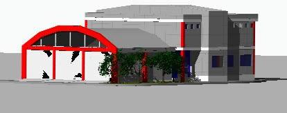 Planos de Cuartel de bomberos, en Estaciones de policía bomberos cuarteles – Proyectos
