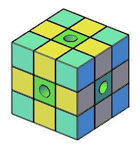 Cubo rubik, en Juegos – Muebles equipamiento