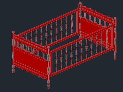 Planos de Cuna, en Dormitorios – Muebles equipamiento