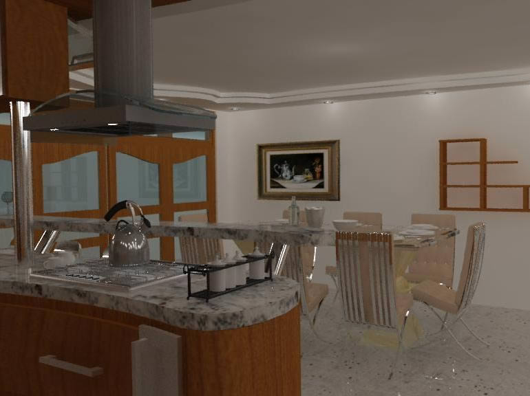 Decoracion de sala 3d, en Salas de estar y tv – Muebles equipamiento
