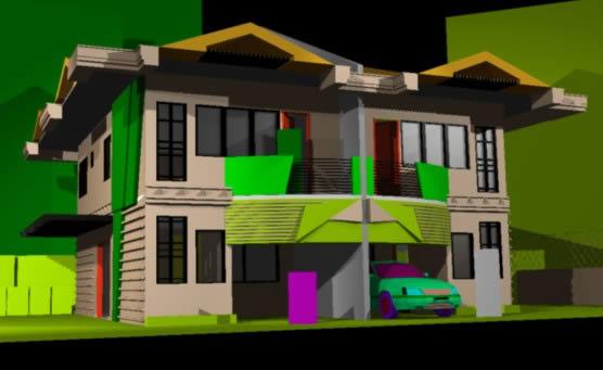 Planos de Deparrtamentos duplex jo, en Vivienda unifamiliar 3d – Proyectos