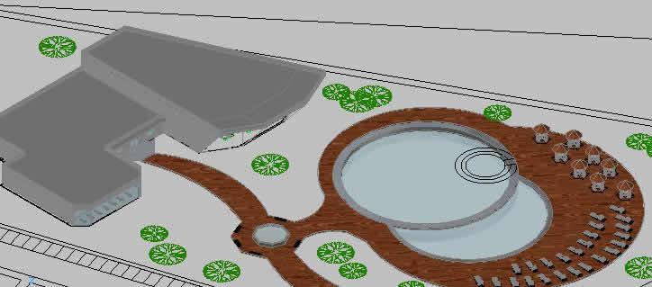 imagen Deportivo 3d, en Proyectos centros deportivos - Deportes y recreación
