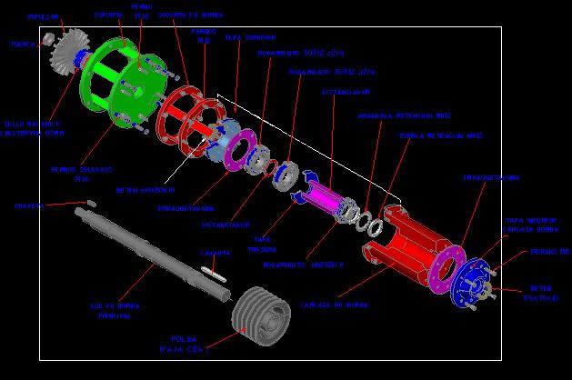 imagen Despiece atoclave 500, en Maquinaria - proyectos varios - Máquinas instalaciones