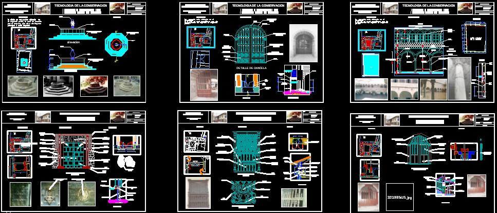 imagen Detalles tecnicos  elementos de arquitectura republicana, en Elementos decorativos - Historia