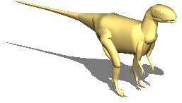 imagen Dinosaurio 3d, en Animales 3d - Animales