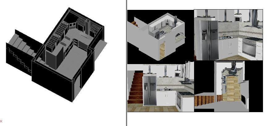 imagen Diseño de cocina, en Cocinas - Muebles equipamiento