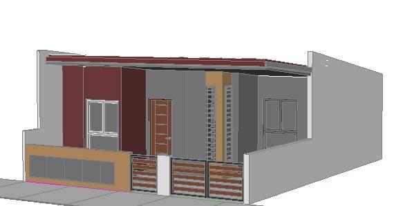 imagen Dormitorio  3d, en Vivienda unifamiliar 3d - Proyectos