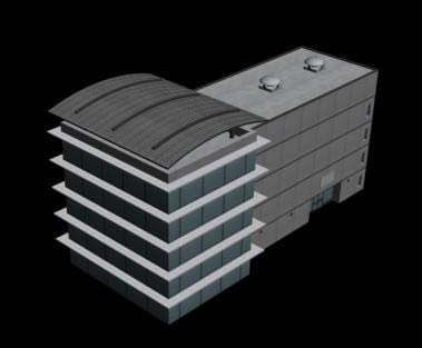 imagen Edificio 3d, en Vivienda multifamiliar - condominios - Proyectos