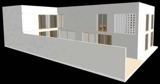 Edificio administrativo, en Oficinas bancos y administración – Proyectos
