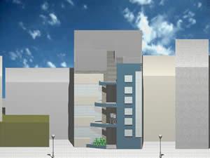 Planos de Edificio de viviendas, en Vivienda multifamiliar – condominios – Proyectos