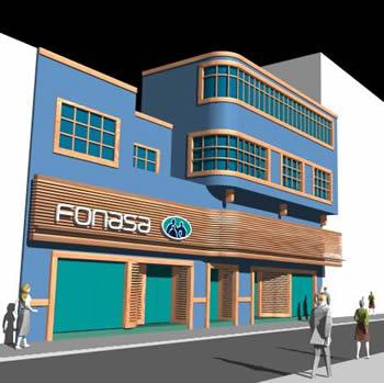Planos de Edificio fonasa 3d, en Proyectos varios – Proyectos