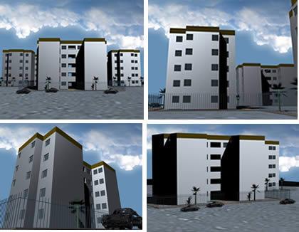 Edificio multifamiliar, en Vivienda multifamiliar – condominios – Proyectos