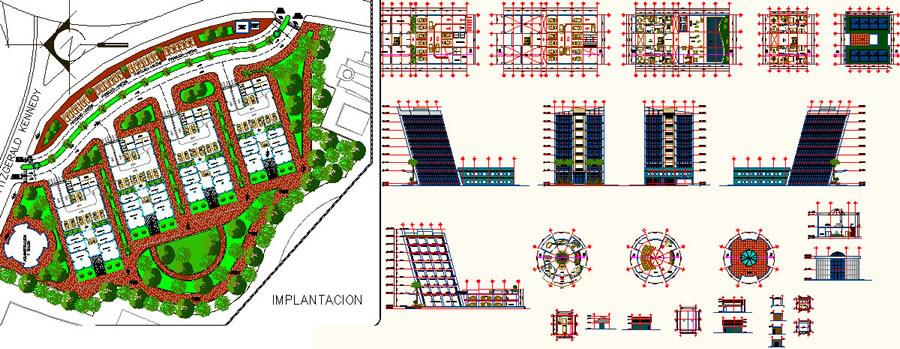 imagen Edificio multifamiliar, en Vivienda multifamiliar - condominios - Proyectos