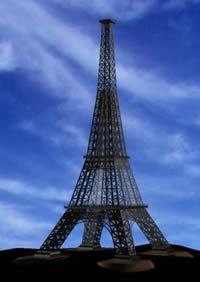 Eiffel tower – torre eiffel, en Obras famosas – Proyectos