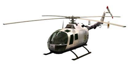 Elecoptero – helicoptero 3d, en Aeronaves en 3d – Medios de transporte