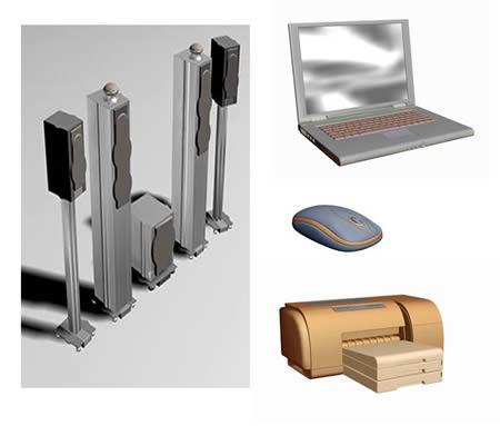 imagen Electronica 3dmax., en Informática - Muebles equipamiento