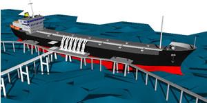Planos de Embarcaión – con muelle en 3d, en Embarcaciones – Medios de transporte