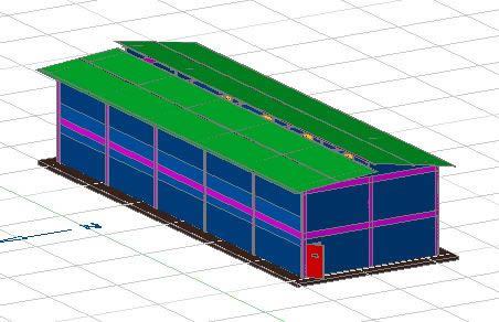Planos de Engorda de borregos en 2 pisos, en Construcciones especiales – Granjas e inst. agropecuarias