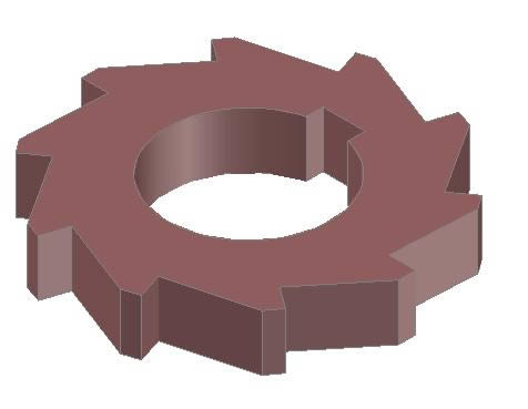 imagen Engrane 3d, en Maquinaria e instalaciones industriales - Máquinas instalaciones