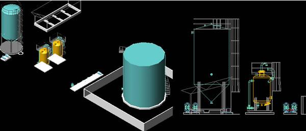 Planos de Equipos para planta traytamiento de agua potable, en Plantas depuradoras – Infraestructura