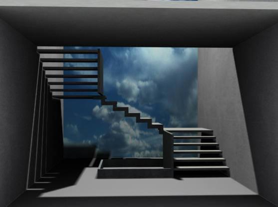Escalera 3d, en Modelos de escaleras 3d – Escaleras