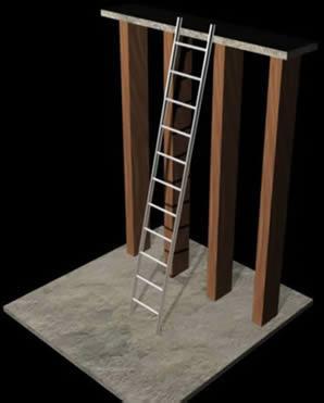 Planos de Escalera de trabajo, en Modelos de escaleras 3d – Escaleras