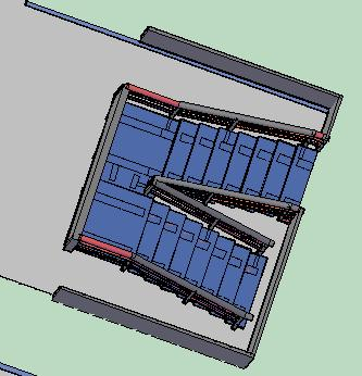 Planos de Escalera en u 3d, en Modelos de escaleras 3d – Escaleras