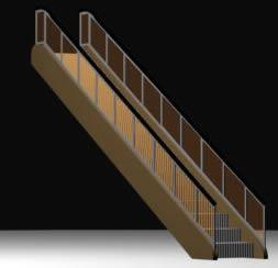 imagen Escalera mecánica, en Modelos de escaleras 3d - Escaleras