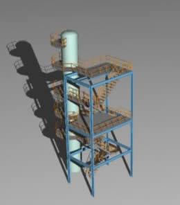 Planos de Escalera tecnica 3d, en Modelos de escaleras 3d – Escaleras