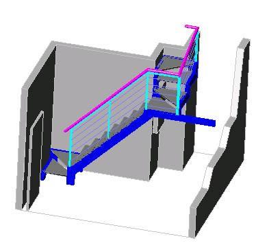 Planos de Escalerai nox.para azotea, en Modelos de escaleras 3d – Escaleras
