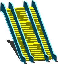 Planos de Escaleras electricas 3d, en Modelos de escaleras 3d – Escaleras
