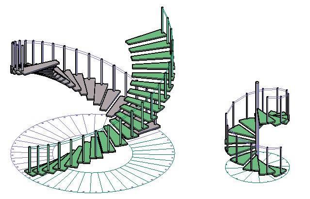 Planos de Escaleras, en Modelos de escaleras 3d – Escaleras