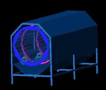 Planos de Escamadora para pescado 3d, en Maquinaria para industria de la alimentación – Máquinas instalaciones