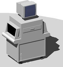 Planos de Escaner explosivos 3d, en Seguridad y control de acceso – Muebles equipamiento