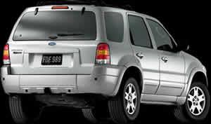 Escape limited 2004, en Automóviles – fotografías para renders – Medios de transporte