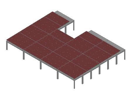 Planos de Escenario, en Proyectos de escaleras 2d – Escaleras