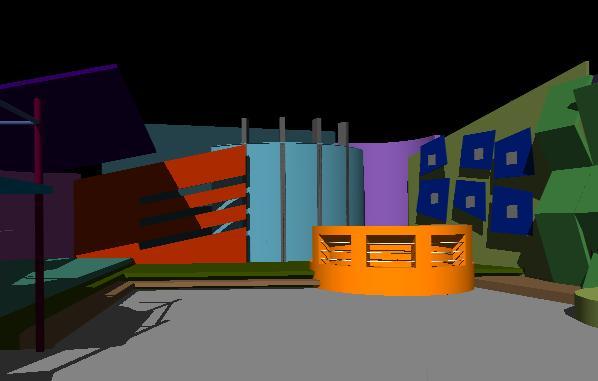Planos de Escenografia 3d, en Centros culturales salas de exposición museos y stands – Proyectos