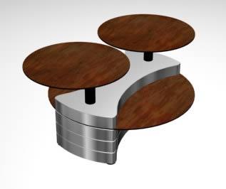 Escritorio 3d, en Muebles varios – Muebles equipamiento