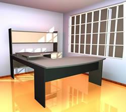 imagen Escritorio de oficina, en Escritorios - Muebles equipamiento