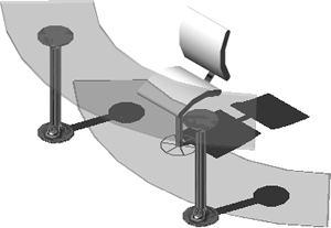 imagen Escritorio de vidrio, en Escritorios - Muebles equipamiento