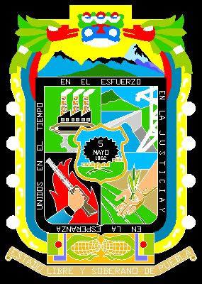 Planos de Escudo de puebla, en Logos y escudos – Símbolos
