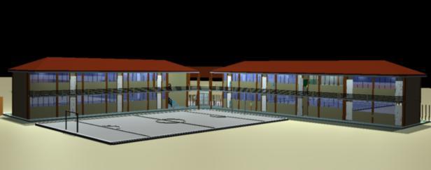imagen Escuela 3d, en Establecimientos educacionales - Proyectos