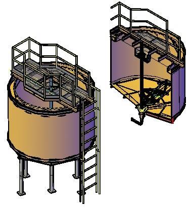 imagen Espesador de 10ft; 3d., en Maquinaria para industria de la alimentación - Máquinas instalaciones